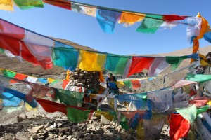 drapeau prière Tibet