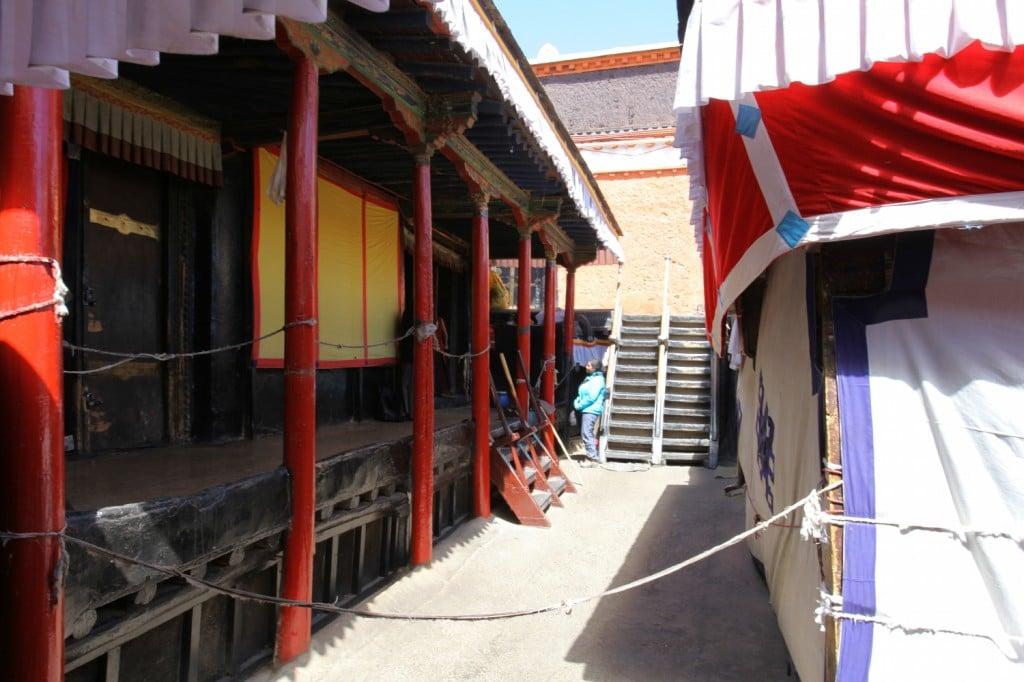 Tibet moine Lhassa