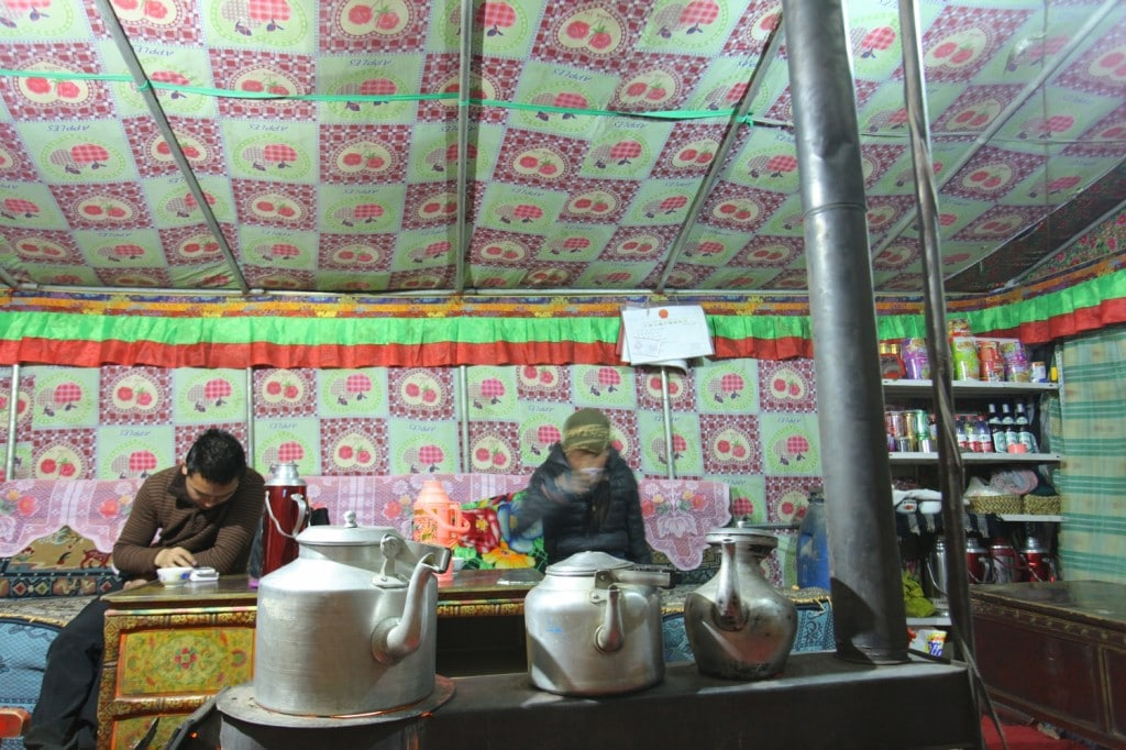 tente camp de base Everest Tibet