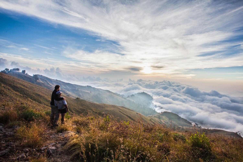 coucher de soleil indonésie