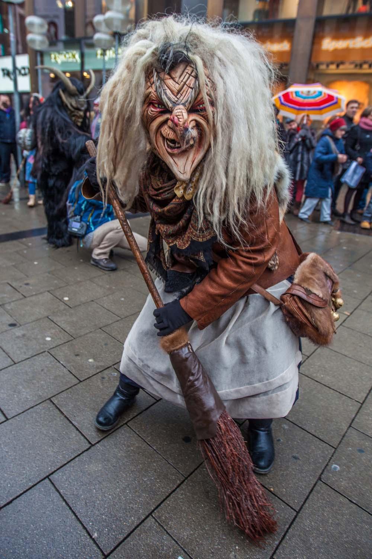Krampus Munich sorcière