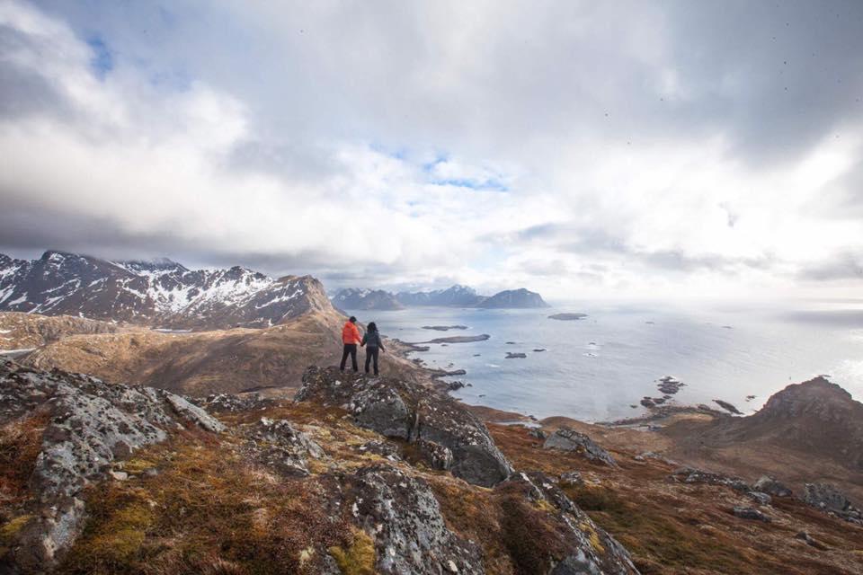 randonnée norvège nyksund