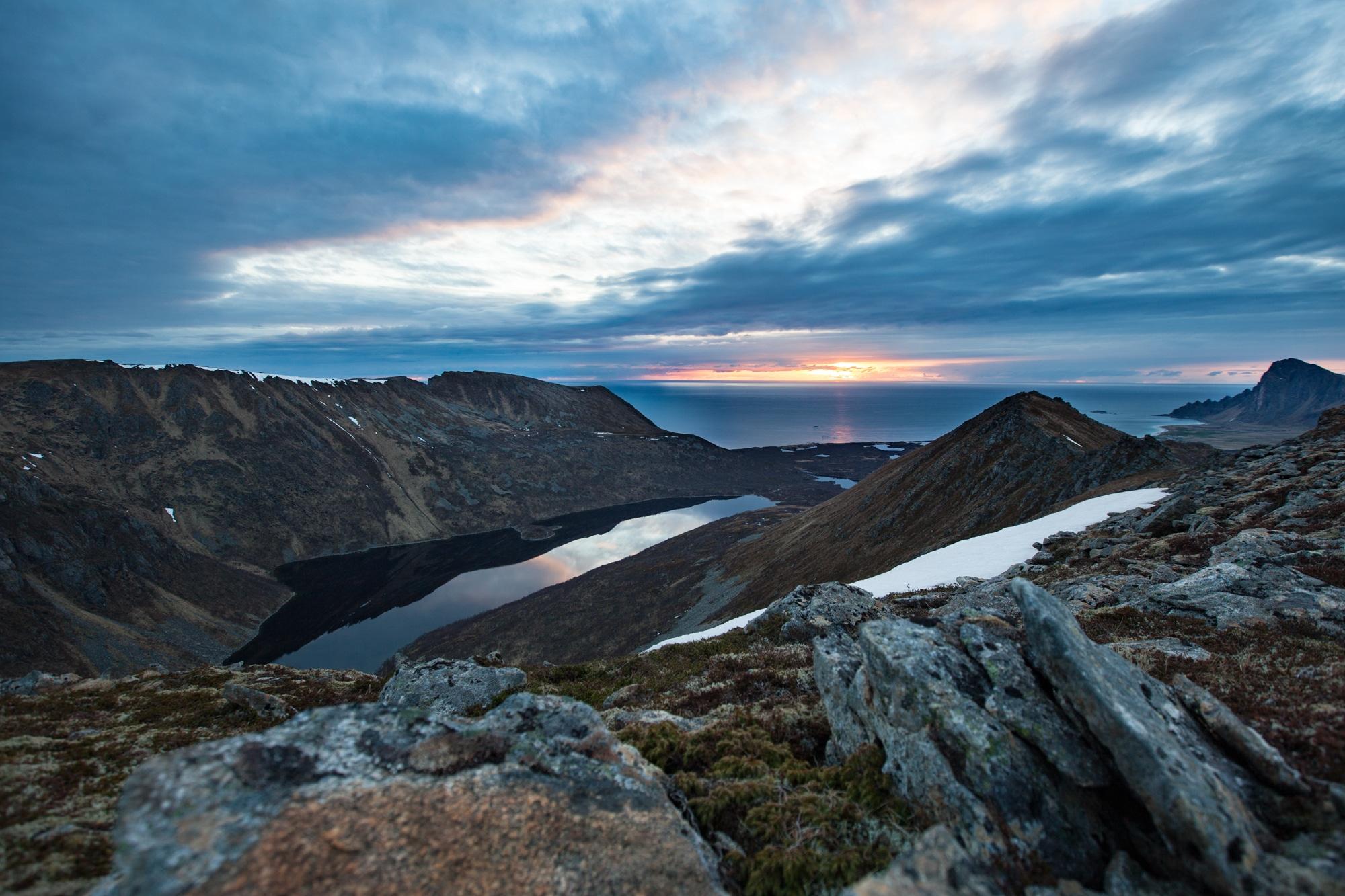 soleil de minuit matinden norvège vesteralen