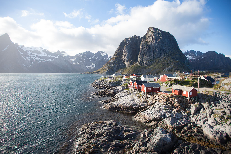 Hamnoy Lofoten norvège