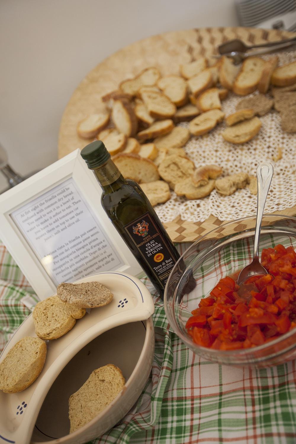 pain ail tomate friselle pouilles