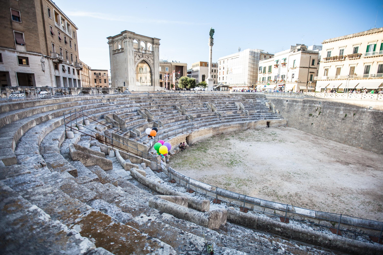 Pouilles : Amphithéâtre deLecce