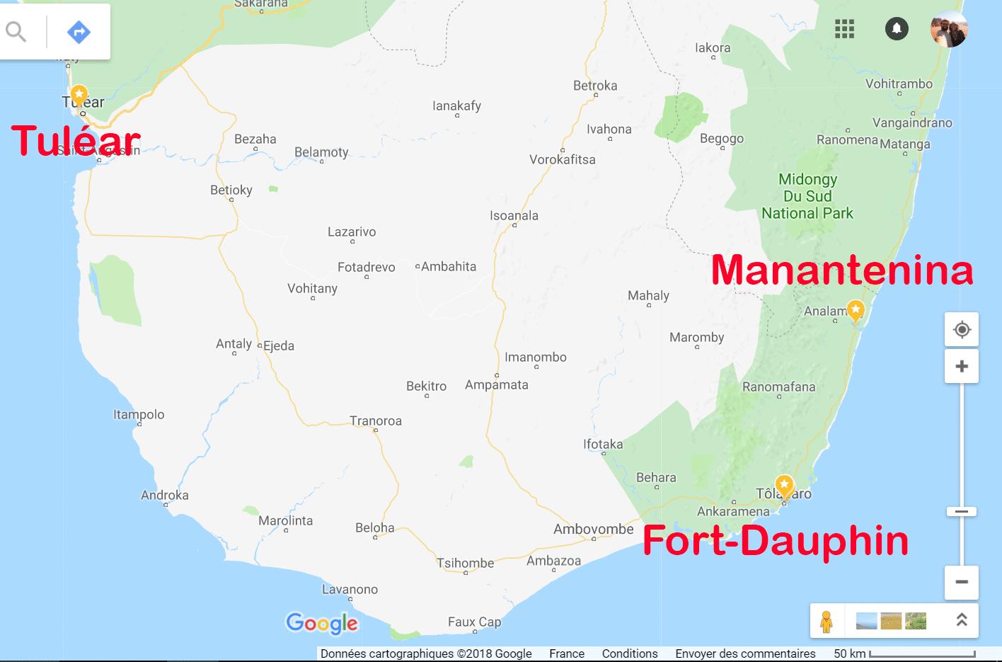 Tuléar Fort-Dauphin Madagascar