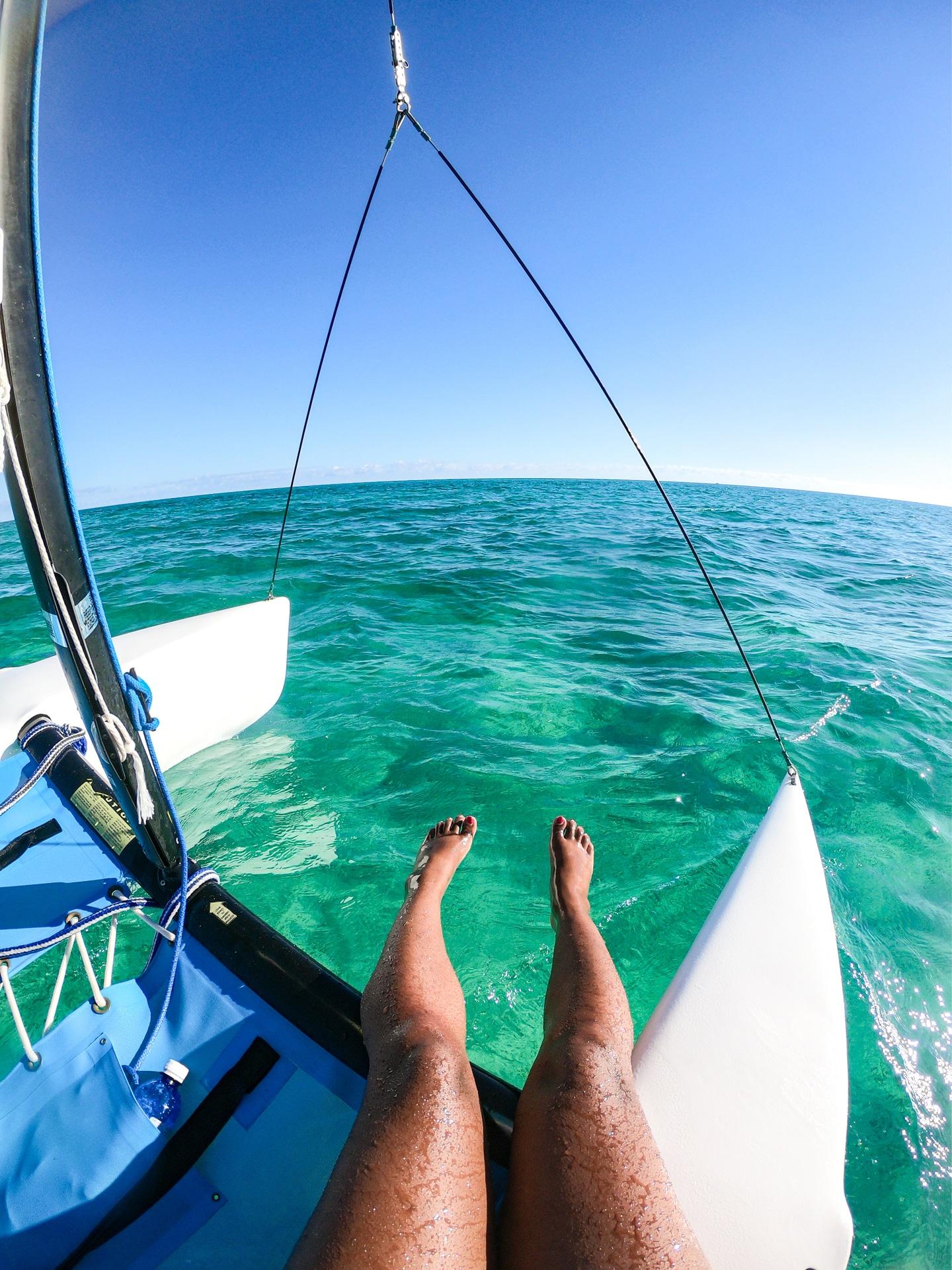 Voyage aux Bahamas catamaran
