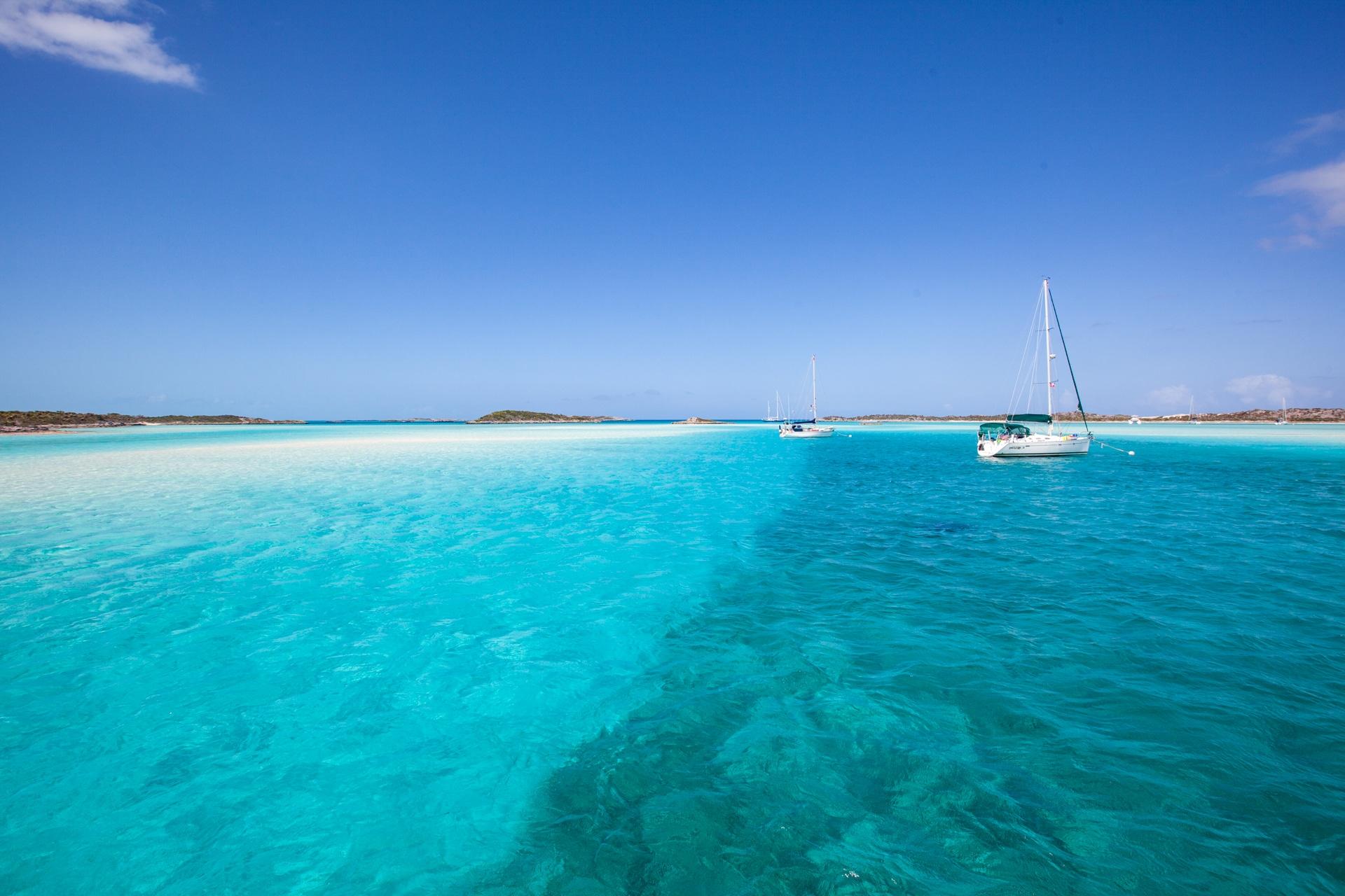 Voyage aux Bahamas Exumas