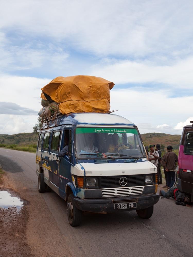 voyager en taxi-brousse Madagascar