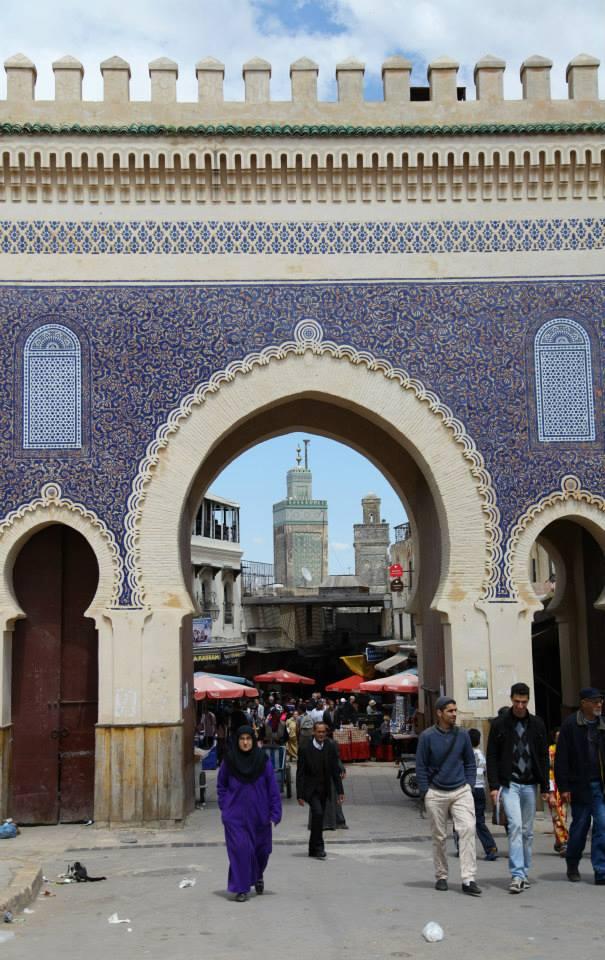 Maroc roadtrip porte Fez