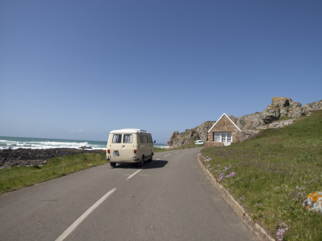 road trip Jersey van camping-car