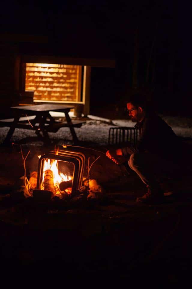 feu camp Québec