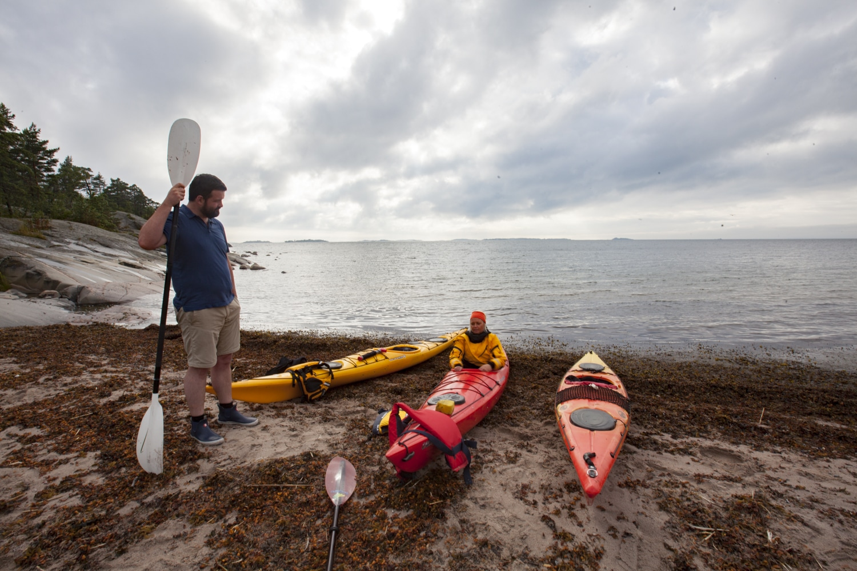 kayak Hanko archipel finlandais