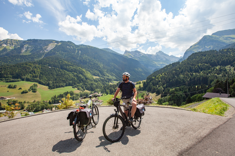 col de la Colombière route des grandes Alpes