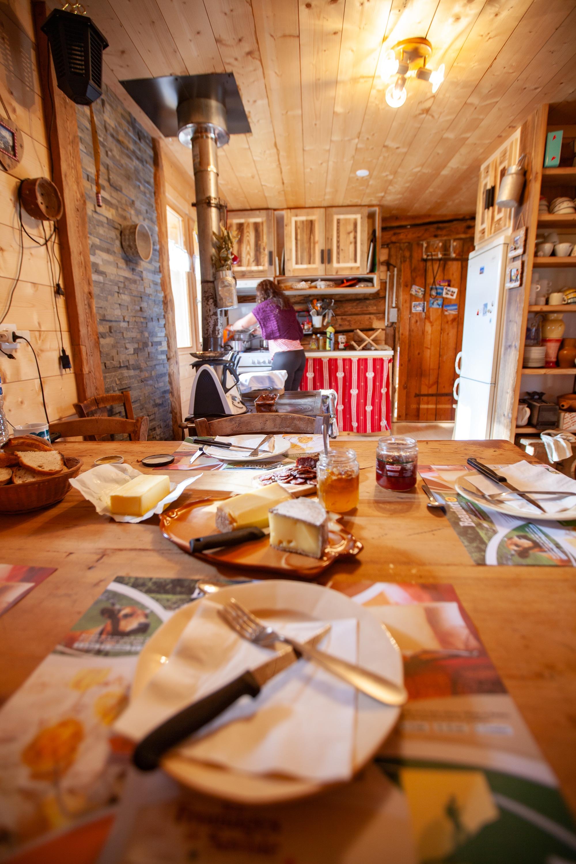 goûter d'alpage Arêches-Beaufort