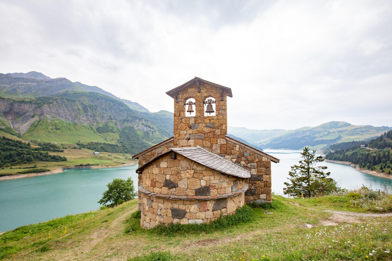 Lac de Roseland chapelle