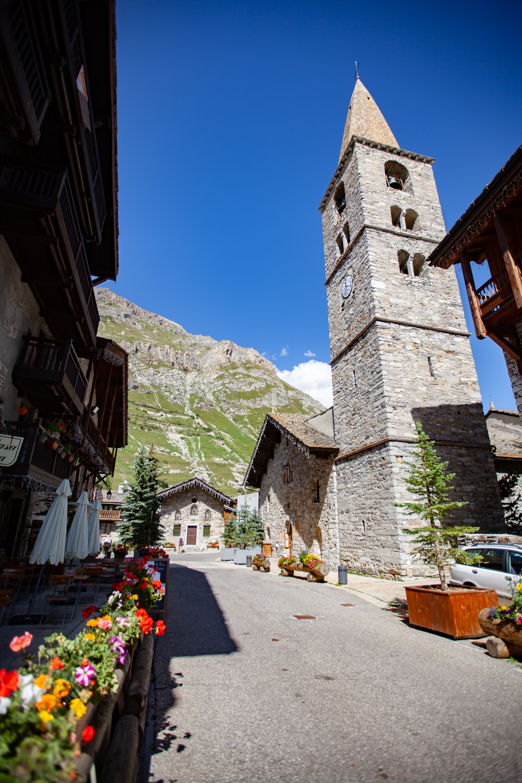 village historique Val d'Isere