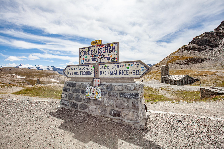 col de l'Iseran route des grandes Alpes