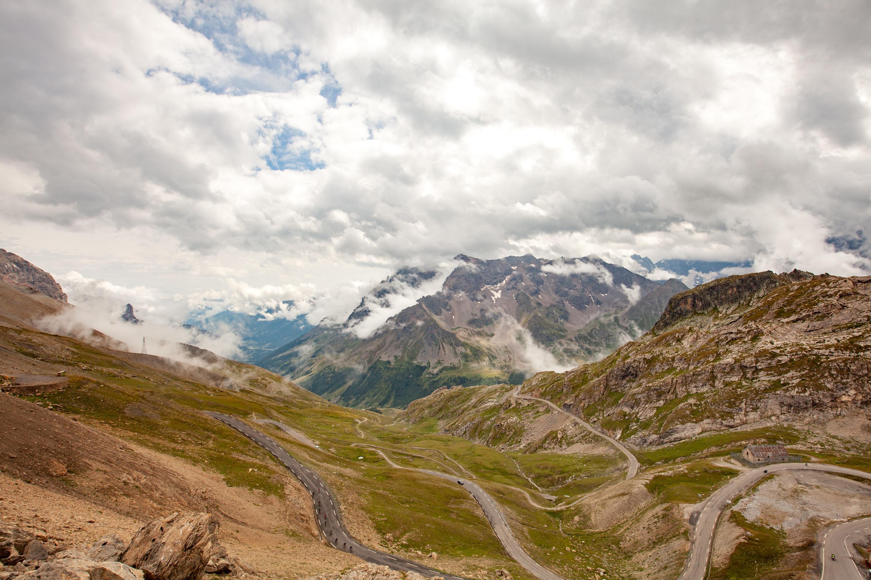 col du Galibier la grande traversée des Alpes