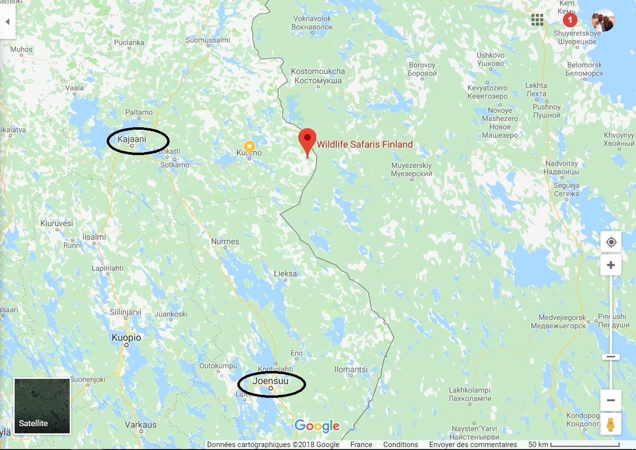 Kuhmo camp de base ours