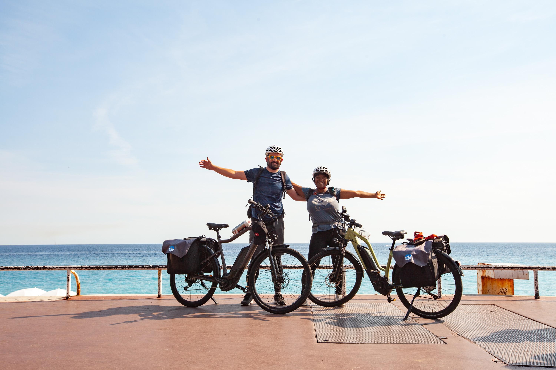 Route des grandes alpes vélo électriques