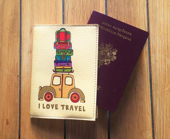 Etui protège passeport