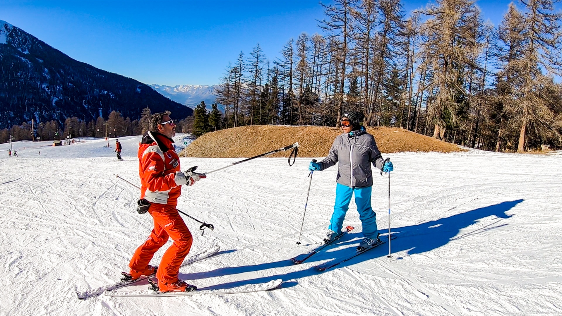 cours de ski adulte