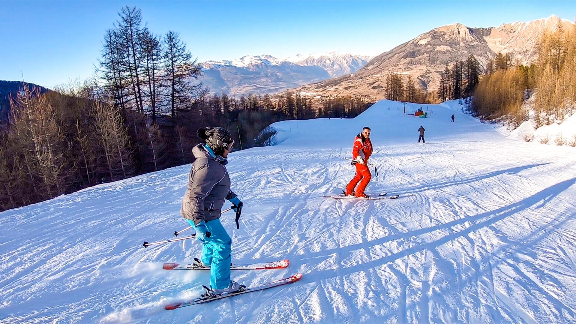 cours de ski ESF