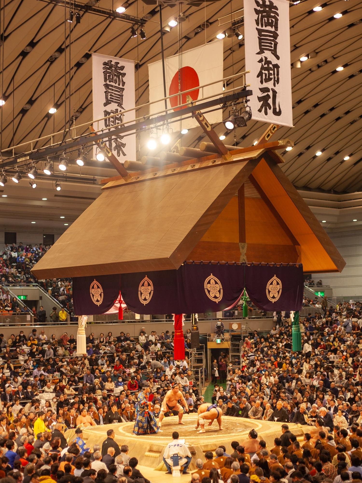 voir sumo Japon
