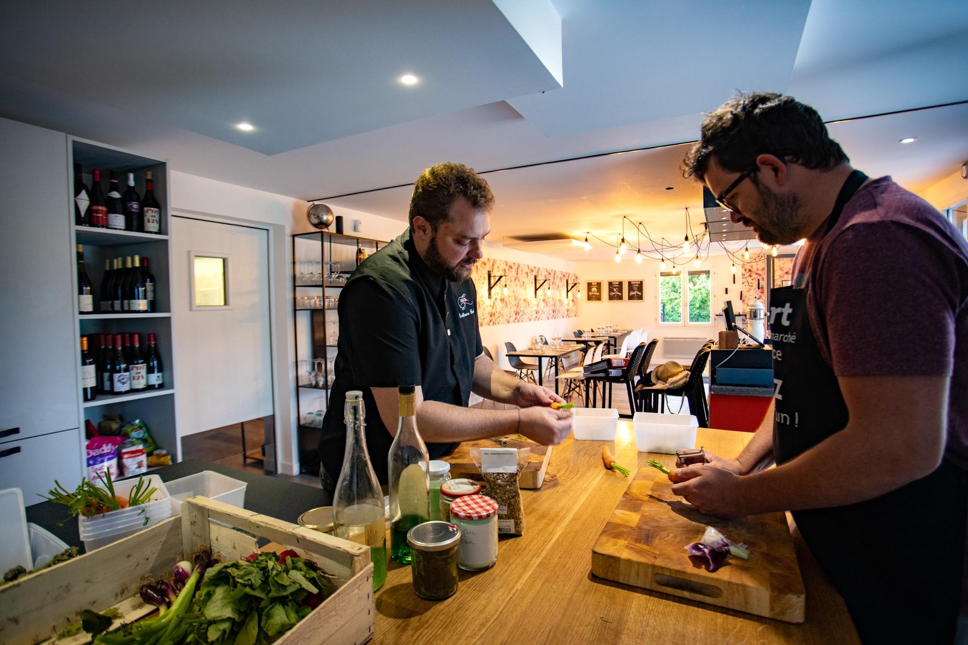 cours de cuisine Niort