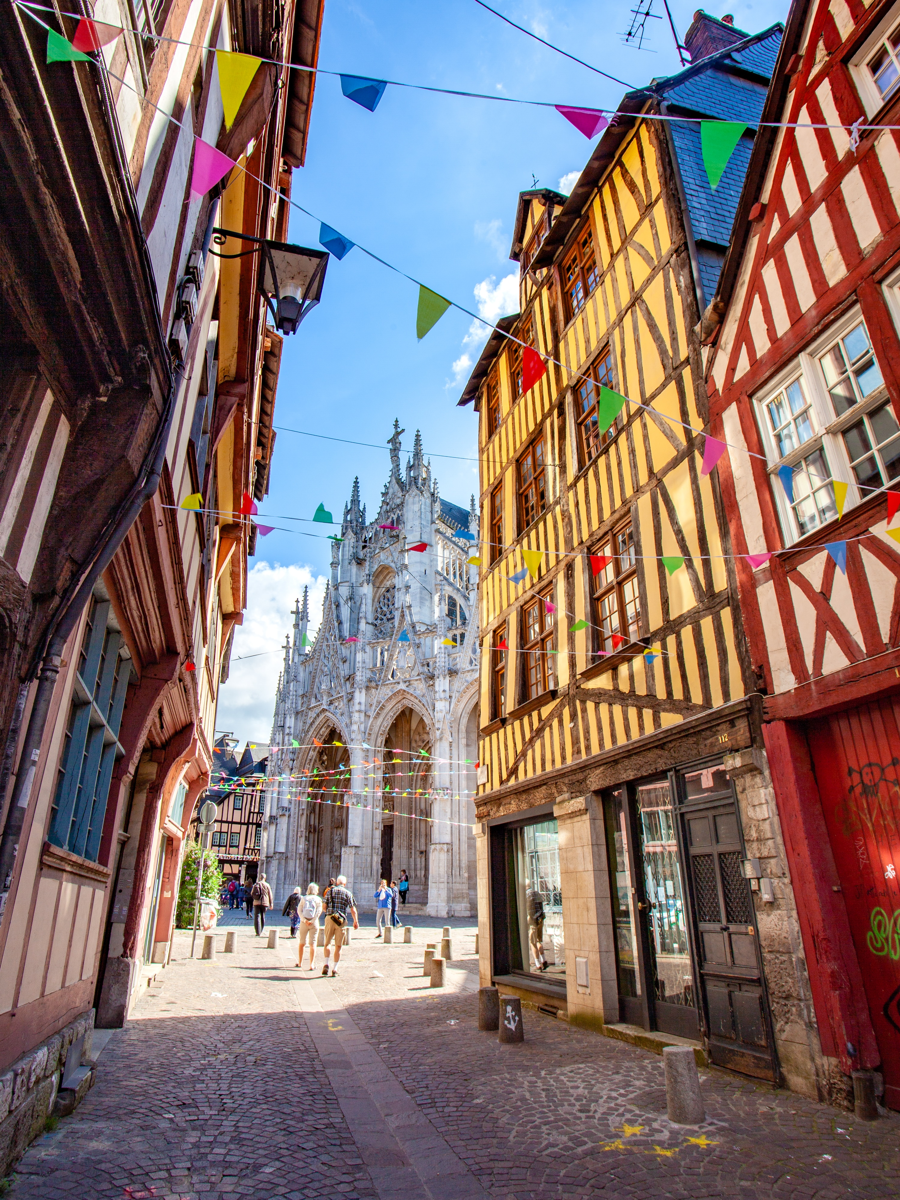 visiter Rouen week-end