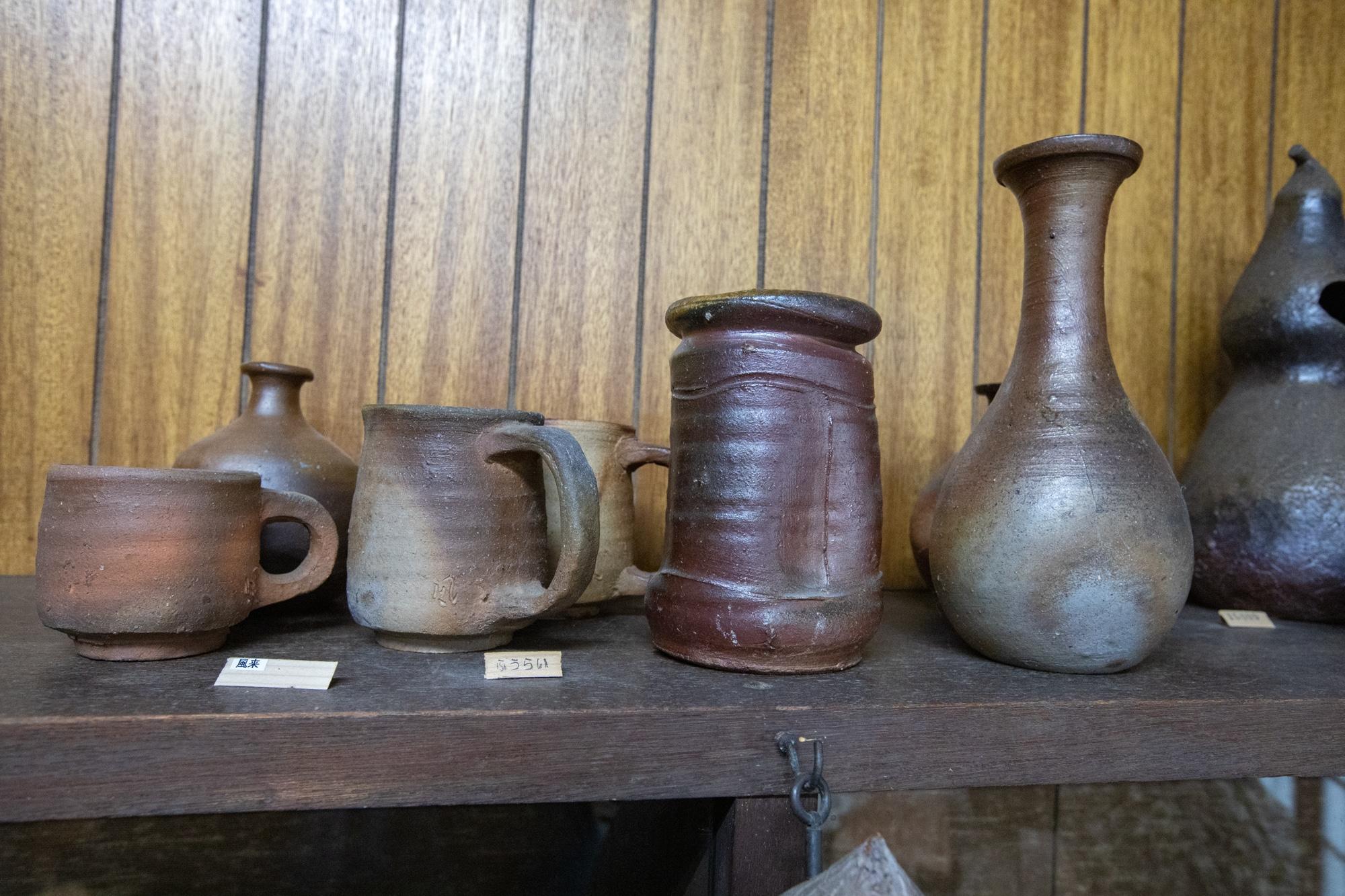 bizen poterie