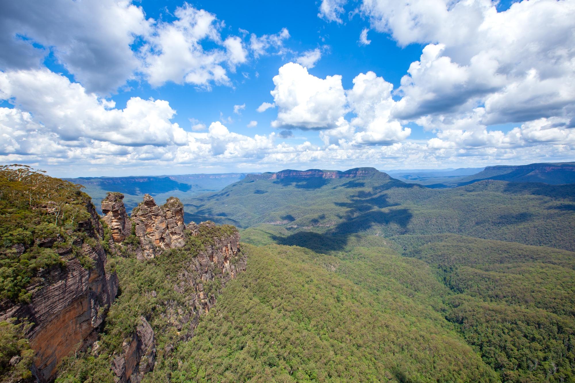 blue mountain australie